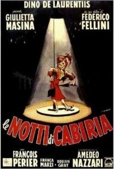 Les nuits de Cabiria en ligne gratuit
