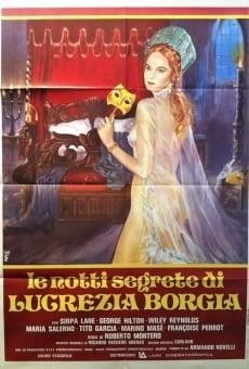 Ver película Las noches secretas de Lucrecia Borgia