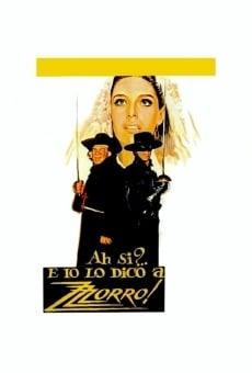 Ver película Las nuevas aventuras del Zorro
