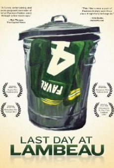 Película: Last Day at Lambeau