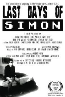 Ver película Last Days of Simon