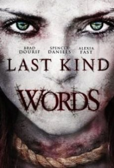 Ver película Last Kind Words