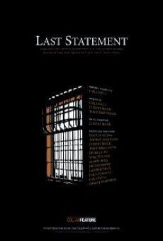 Last Statement online