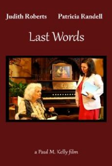 Last Words on-line gratuito