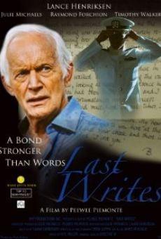 Ver película Last Writes