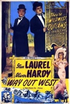Laurel & Hardy: Way Out West on-line gratuito