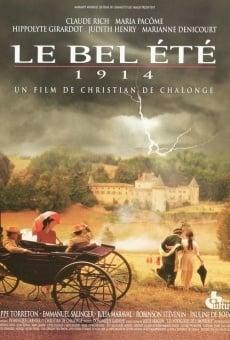 Película: Le bel été 1914