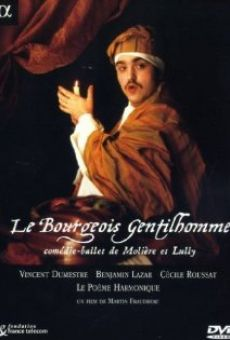 Le bourgeois gentilhomme online free