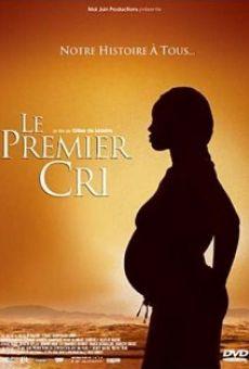 Ver película Le premier cri