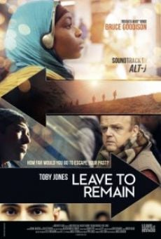 Película: Leave to Remain