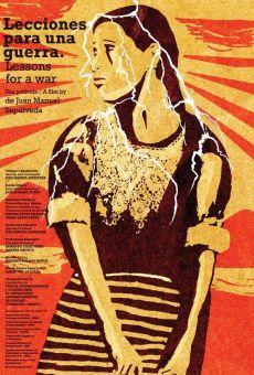 Ver película Lecciones para una guerra