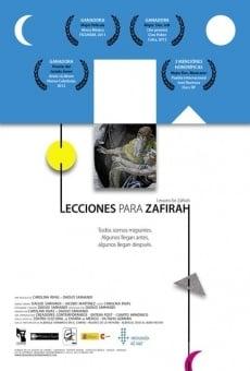 Lecciones para Zafirah online gratis