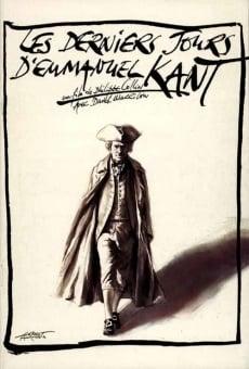 Les derniers jours d'Emmanuel Kant online