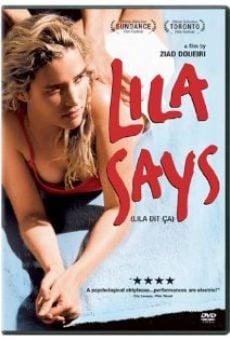 Lila dit ça (aka Lila Says)