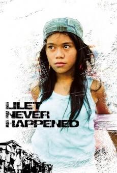 Watch Lilet Never Happened online stream