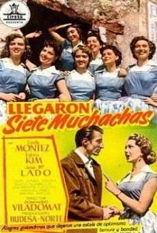 Ver película Llegaron siete muchachas