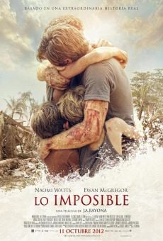 Lo imposible (The Impossible) online kostenlos