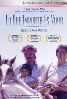 Ver película Lo que importa es vivir