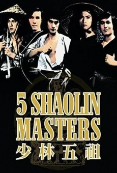 Los 5 maestros de Shaolin online