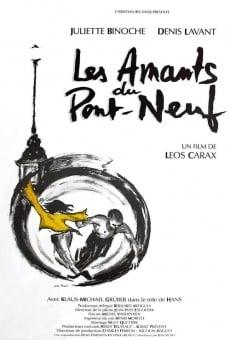 Los amantes del Pont-Neuf online