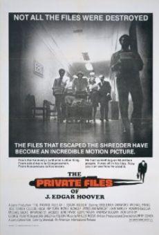 Ver película Los archivos privados de Hoover