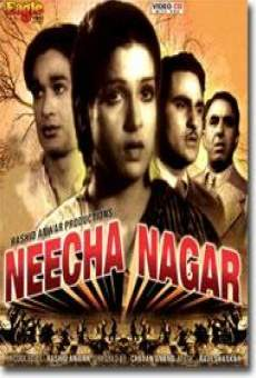 neecha nagar 1946 film en fran ais cast et bande annonce. Black Bedroom Furniture Sets. Home Design Ideas