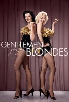 Ver película Los caballeros las prefieren rubias