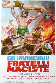 Ver película Los invencibles hermanos Maciste