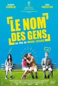 Película: Los nombres del amor