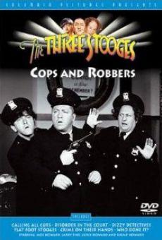 Ver película Los tres chiflados. Flat Foot Stooges