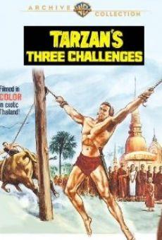 Ver película Los tres desafíos de Tarzán