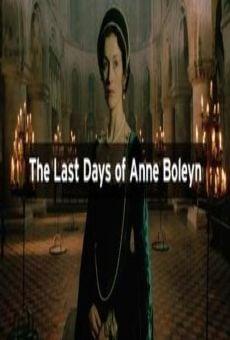 Los últimos días de Ana Bolena online