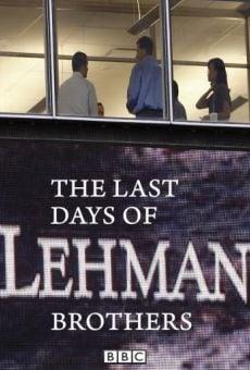 Ver película Los últimos días de Lehman Brothers
