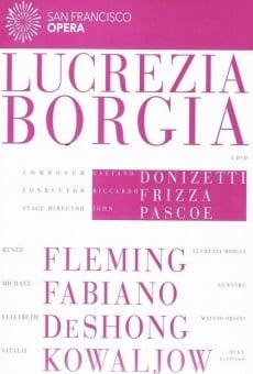Lucrezia Borgia en ligne gratuit