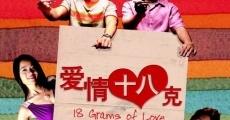Película 18 Grams of Love