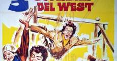 3 superhombres en el Oeste