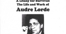 Película A Litany for Survival: The Life and Work of Audre Lorde