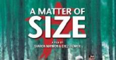A Matter of Size (2009) stream