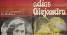 Película Adiós Alejandra