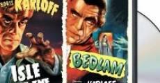 Película Bedlam, hospital psiquiátrico