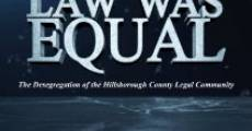 Before the Law Was Equal: The Desegregation of the Hillsborough County Legal Community (2013) stream