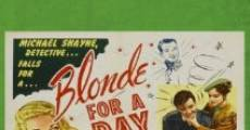 Filme completo Blonde for a Day