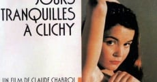 Jours tranquilles à Clichy streaming