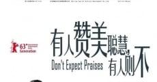 Película Don't Expect Praises