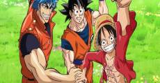 Película Dream 9 Toriko & One Piece & Dragon Ball Z Chô Collaboration Special!!