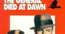 Il generale morì all'alba