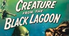 El monstruo de la laguna negra