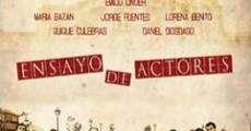 Película Ensayo de actores