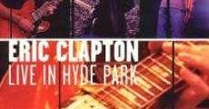 Película Eric Clapton: Live in Hyde Park