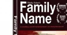 Película Family Name
